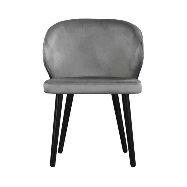 Krzesło Atlanta, french velvet 666, 6 czarny (2)