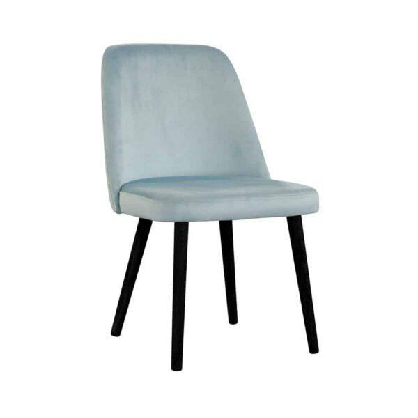 Krzesło Jennifer, french velvet 679, 6 czarny (2)