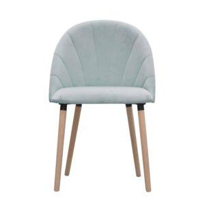 Krzesło Ariana, french velvet 679, surowe (1)