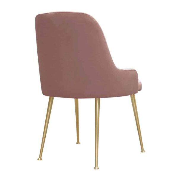 Krzesło Jasmine, french velvet 682, złote nogi (4)