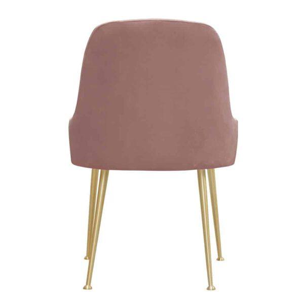 Krzesło Jasmine, french velvet 682, złote nogi (5)
