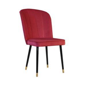Krzesło Matylda, french velvet 662 (2)