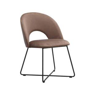 Krzesło Demi, french velvet 683(2)