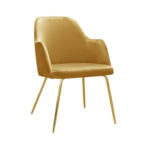 Fotel Caprice ideal gold