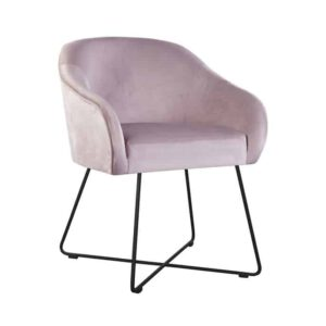 Amelia cross armchair