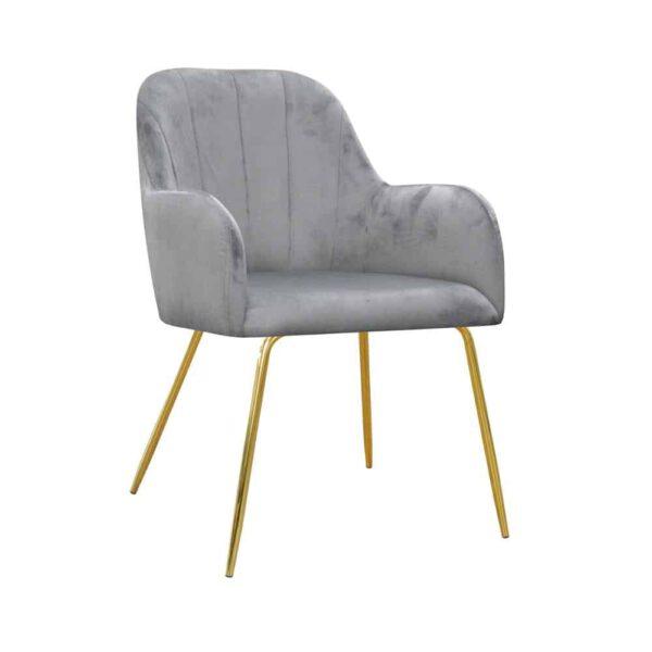 Fotel Ilario ideal gold